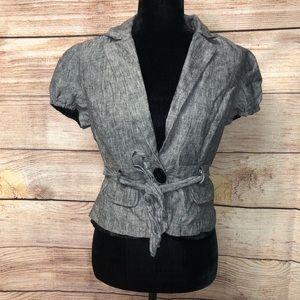 Takara Short Sleeve Jacket Blazer